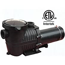 2HP 115V/230V Single Speed Energy Efficient Spa pump Swimming Pool Pump with Stainless Steel Motor Drive Shaft