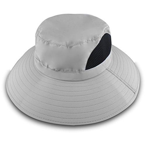 Men\'s Wide Brim Sun Hat, Outdoor Sunscreen Wate...