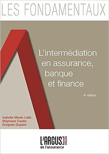 Télécharger en ligne L'intermédiation en assurance, banque et finance pdf