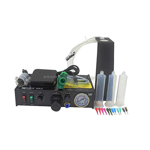 Jammas 1p FT-982 220v Semi-automatic Glue Dispenser Glue Dispenser machine Glue Dispenser Solder Paste Liquid Controller