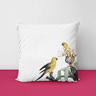 411mDDE9WvL. SS320 Birds Corner Square Design Printed Cushion Cover