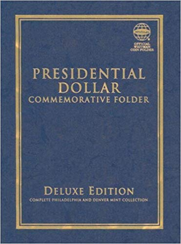 [0794823823] [9780794823825] Presidential Dollar Commemorative Folder: Complete Philadelphia and Denver Mint Collection (Official Whitman Coin Folder) – Hardcover