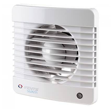 Pleasing 6 Silenta Kitchen Bathroom Shower Extractor Fan With Shutter Quiet But Not Silent 150Mm Beutiful Home Inspiration Xortanetmahrainfo
