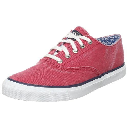 Sperry Top-sider Donna Cvo Canvas Lace-up Rosso