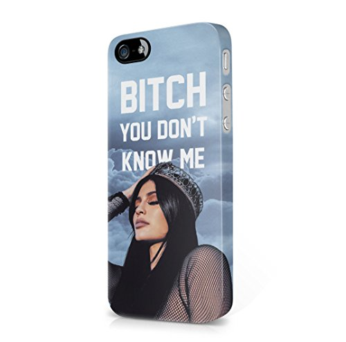 Kylie Jenner You Dont Know Me iPhone 5, iPhone 5s, iPhone SE Hard Plastic Case Cover