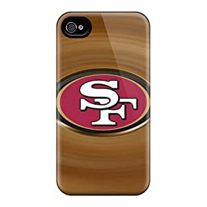 (Jva15624pWMA)durable Protection Cases Covers For Ipod Touch 4(san Francisco 49ers)