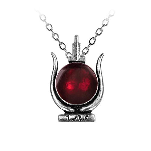 Alchemy Gothic Egyptian Cult of Isis Pendant Necklace]()