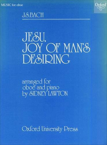 Jesu, Joy of Man's Desiring: Oboe and piano ()