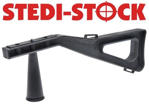Stedi Stock Shoulder Brace Optical Stabilizer for Video, Spotting Scopes, and Cameras, Black by Stedi Stock