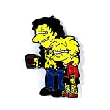 Sid and Nancy/Lisa and Nelson Simpsons Sex Pistols