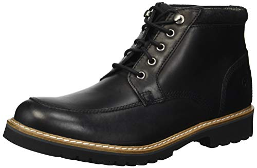 (Rockport Men's Marshall Rugged Moc Toe Boot, black, 9 M US)