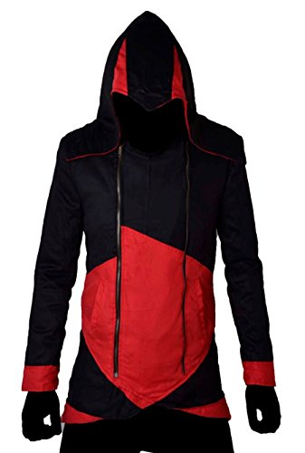 Cotton Pour Assassins Homme Classyak Red Black Veste Creed And xA1ZXaqpw