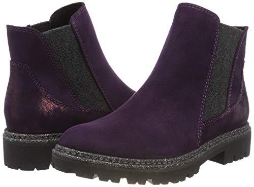 Viola Comb 31 purple Donna Chelsea 515 Stivali Tozzi Marco 25841 4wTYT81