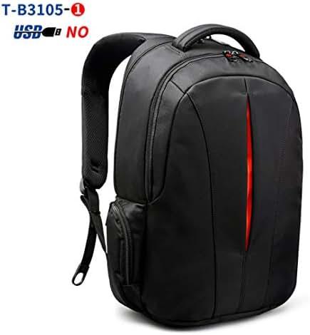 Splashproof 15.6Inch Laptop Backpack NO Key TSA Anti Theft Men Backpack Travel Teenage Backpack Bag Male Bagpack Black and Orange