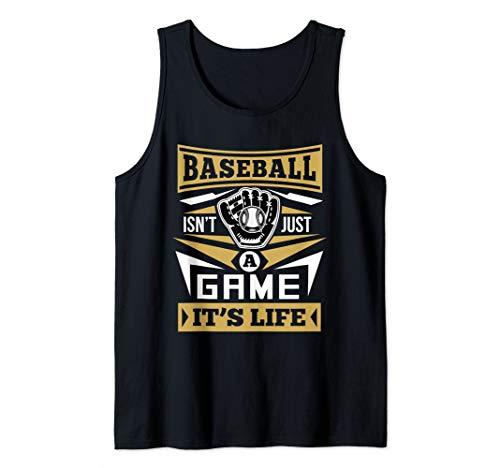 2015 Fleer Mlb Baseball - Baseball Isn't Just A Game It's Life Baseball Tank Top