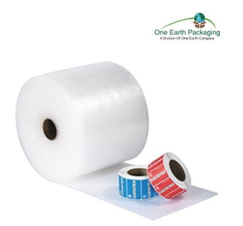 One Earth Bubble Wrap Roll, 12 Inches x 150 Feet- Perforated Every 12 Inches by One Earth Company