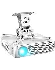 Duronic PB05XB Beamer Beugel   Projector Houder voor Plafond of Muur Bevestiging   13,6 kg Draagcapaciteit   Stevige Ophang Beugel   Voor Presentaties Kantoor Vergaderzaal Thuisbioscoop Games