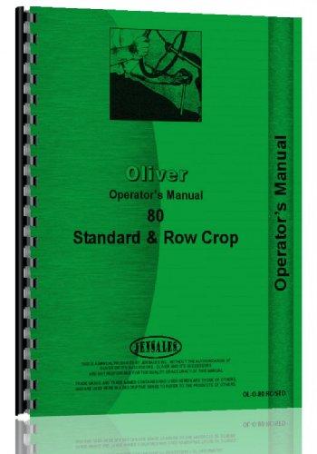 Tractor Cockshutt - Cockshutt Tractor Operators Manual (OL-O-80 RC/STD)