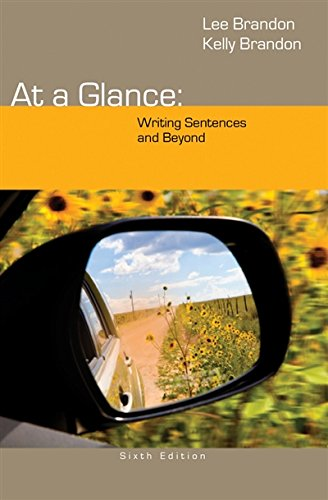 At a Glance: Writing Sentences and Beyond