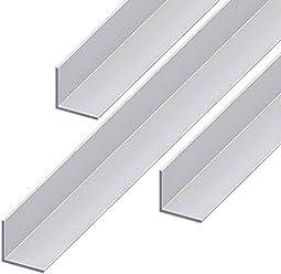 Aluminium Winkel Aluwinkel Walzblankes Aluprofil Winkelprofil 20x20x2mm 2000mm