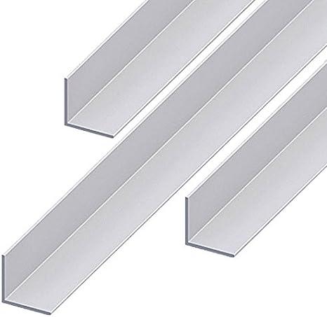 Aluminium Winkel Aluwinkel Walzblankes Aluprofil Winkelprofil 20x20x2mm 500mm