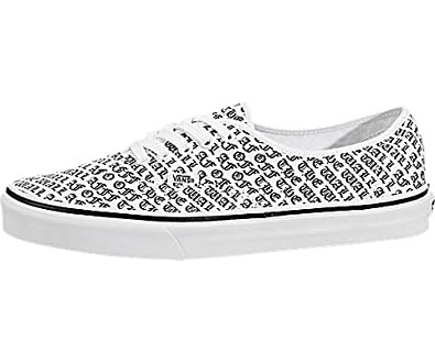 cdf7c6f6f739cc Vans Authentic Off The Wall True White (8.5 Women   7 Men M US)