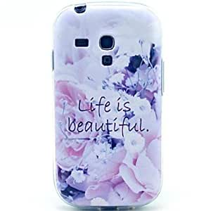 GX Teléfono Móvil Samsung - Cobertor Posterior - Gráfico/Diseño Especial - para Samsung S3 Mini I8190N ( Multi-color , TPU )