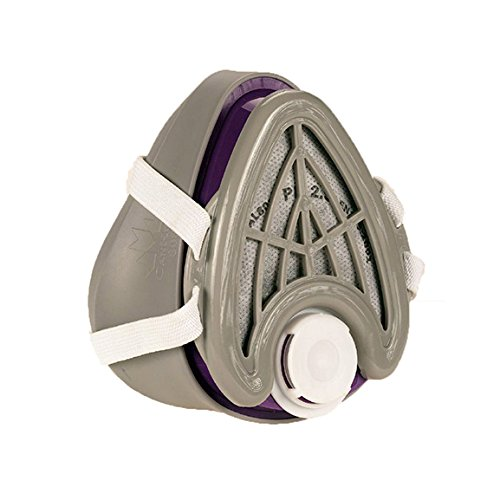 CANHEAL-Dust-Mask-Washable-and-Reusable-4-Active-Carbon-Filters-Included-Multi-Purpose-Particulate-Respirator-Small-Medium-GrayPurple