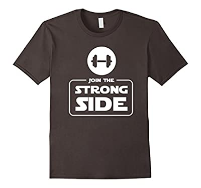 Join The Strong Side Funny Gym Weightlifting T Shirt Gift