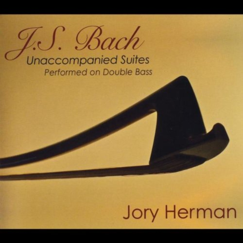 J.S. Bach: Unaccompanied Suites Performed On Double Bass