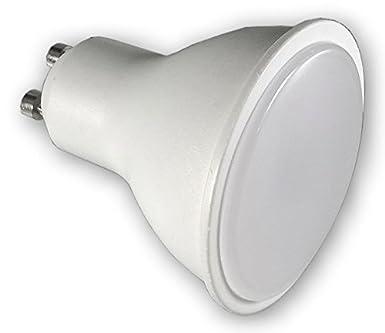 7 W - 230 V GU10 LED Gartenlampe mit Erdspiess PA warmweiss