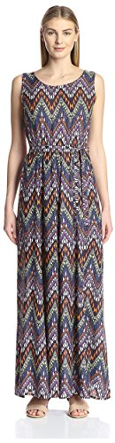 James & Erin Women's Sleeveless Maxi Dress
