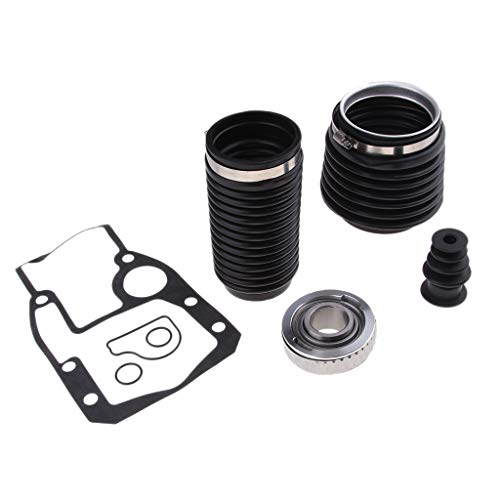 Omc Inboard Outboard - B Blesiya for OMC Cobra 1986-1993 Transom Bellows Repair Kit U-Joint Bellow Exhaust Bellow Gasket Kit 3850426 3853807 911826