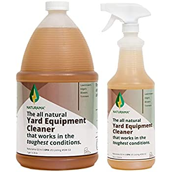 Naturama, All Natural Yard Equipment Cleaner, Eco-Friendly EPA Registered Made in the U.S. (Refill Pack)