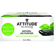 Attitude Natural Air Purifier Green Apple and Basil, 8 Ounce