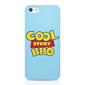 Loud Universe Cool Story Bro iPhone SE Case Toy Story iPhone SE Cover with 3d Wrap around Edges