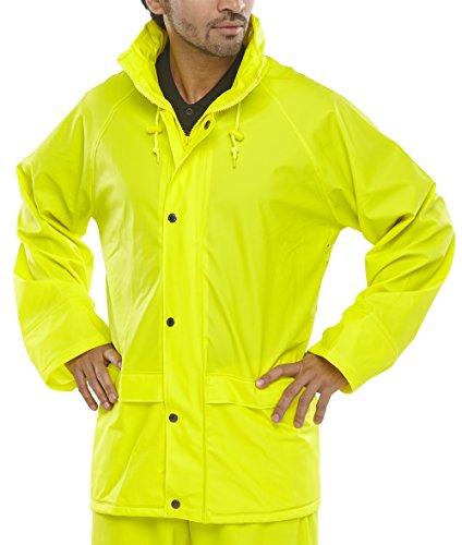 Super B-Dri Jacket Sat/Yellow Hi-Vis - XL