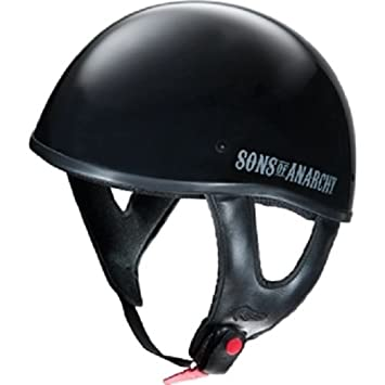 Fulmer Sons Of Anarchy Soa Reaper Black Xs Motorcycle Helmet