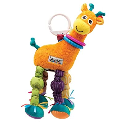 Lamaze Play Grow Stretch The Giraffe Take Along Toy from TOMY