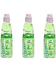Hatakosen Ramune Melon, 200 ml (3 Flessen)