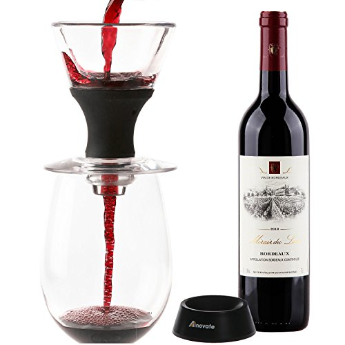 Wine Gifts Wine Aerator, to Achieve a Better Taste and Better Texture for All Wine Lovers Ainovate by Ainovate