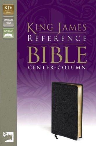 KJV, Reference Bible, Bonded Leather, Black, Red Letter Edition