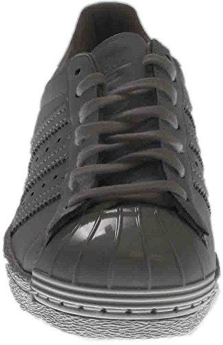 Adidas Kvinnor Original Superstar 80 Metaltoe Skor # S76540 (9,5)