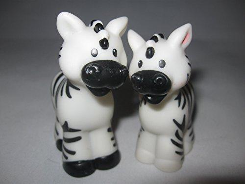 Fisher Price Little People Animals, Noah's Ark, Zoo Animals, Male & Female Zebra Family (Male Zebra)