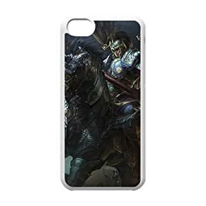 iphone5c White phone case XinZhao league of legends LOL5717773