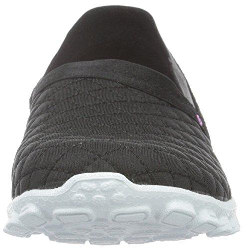 Skechers Ez Flex 2bankroll - Zapatillas Mujer Negro - negro (Bkw)