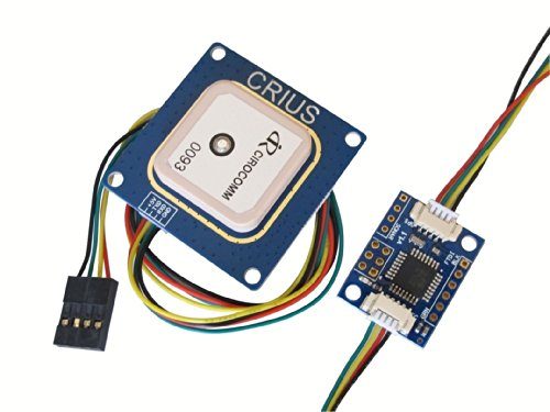 Price comparison product image Hobbypower I2c-gps NAV Module & U-blox Neo-6 V3.1 GPS Receiver for MWC Multiwii Se / Lite