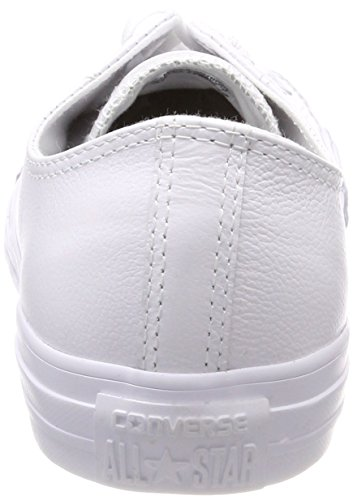 Leather Star Chuck All Sneaker Men's Taylor Top White Converse Low nUqXI4nx