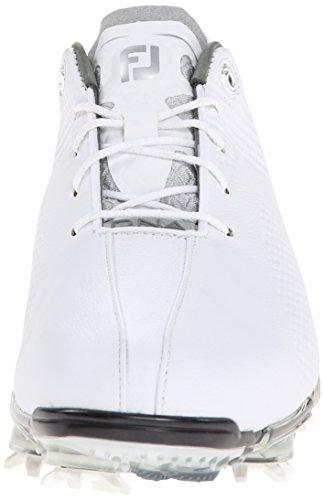 Footjoy DNA da uomo, bianco/bianco sporco sneaker, uomo, White/Off White, 46 White/Off White