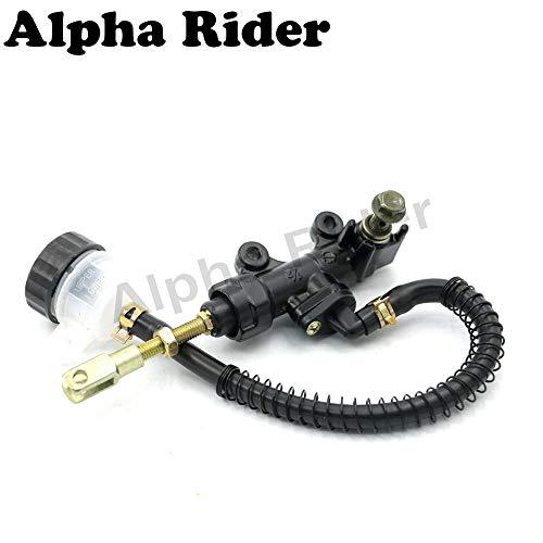 Rear Brake Master Cylinder Fluid Reservoir for Suzuki GSXR GSX-R 600 750 2001-2010 GSXR600 GSXR750 01-10 09 08 07 06 05 04 03 02
